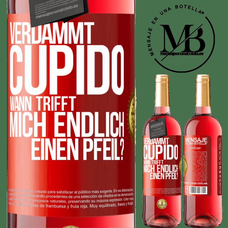 24,95 € Kostenloser Versand   Roséwein ROSÉ Ausgabe Amor Motherfucker, wann wird mein Schwarm? Rote Markierung. Anpassbares Etikett Junger Wein Ernte 2020 Tempranillo