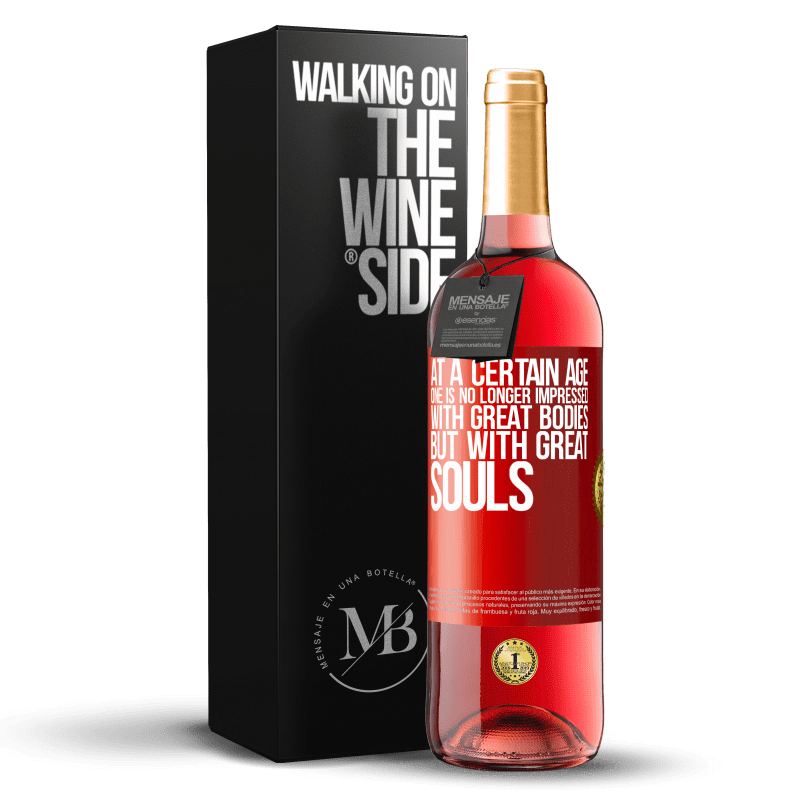 24,95 € Free Shipping   Rosé Wine ROSÉ Edition At a certain age one is no longer impressed with great bodies, but with great souls Red Label. Customizable label Young wine Harvest 2020 Tempranillo