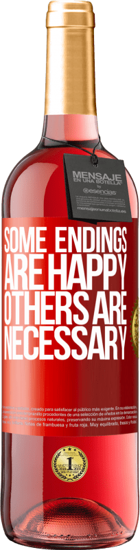 24,95 € Free Shipping | Rosé Wine ROSÉ Edition Some endings are happy. Others are necessary Red Label. Customizable label Young wine Harvest 2020 Tempranillo