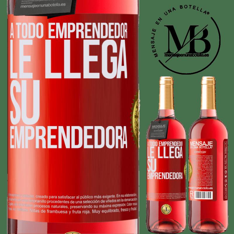 24,95 € Envoi gratuit   Vin rosé Édition ROSÉ Chaque entrepreneur obtient son entrepreneur Étiquette Rouge. Étiquette personnalisable Vin jeune Récolte 2020 Tempranillo