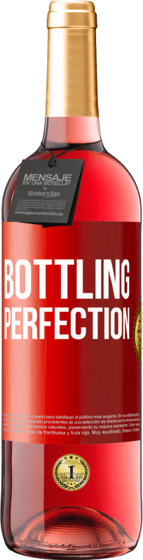 24,95 € Free Shipping | Rosé Wine ROSÉ Edition Bottling perfection Red Label. Customizable label Young wine Harvest 2020 Tempranillo
