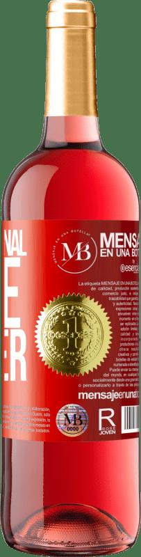 «Professional wine taster» ROSÉ Edition