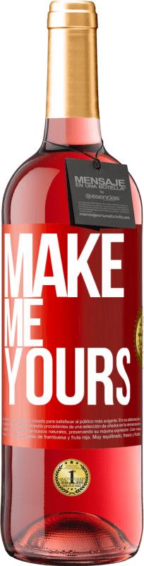24,95 € Free Shipping   Rosé Wine ROSÉ Edition Make me yours Red Label. Customizable label Young wine Harvest 2020 Tempranillo