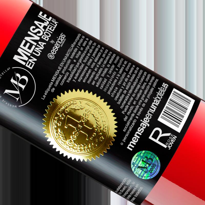 Limitierte Auflage. «Frohe weihnachten Dieser Wein gibt Ihnen die gleiche Wärme wie der Pullover einer Großmutter» ROSÉ Ausgabe