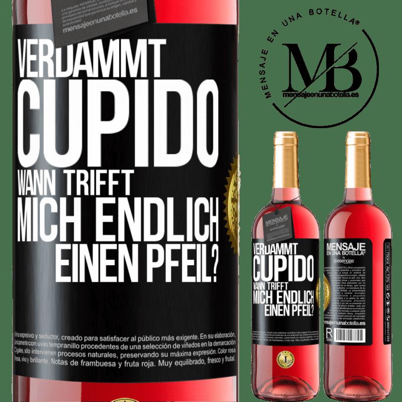 24,95 € Kostenloser Versand   Roséwein ROSÉ Ausgabe Amor Motherfucker, wann wird mein Schwarm? Schwarzes Etikett. Anpassbares Etikett Junger Wein Ernte 2020 Tempranillo