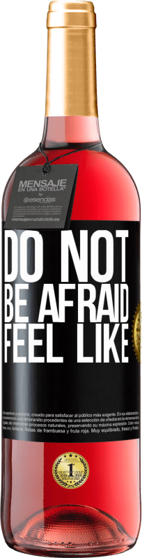 24,95 € Free Shipping | Rosé Wine ROSÉ Edition Do not be afraid. Feel like Black Label. Customizable label Young wine Harvest 2020 Tempranillo