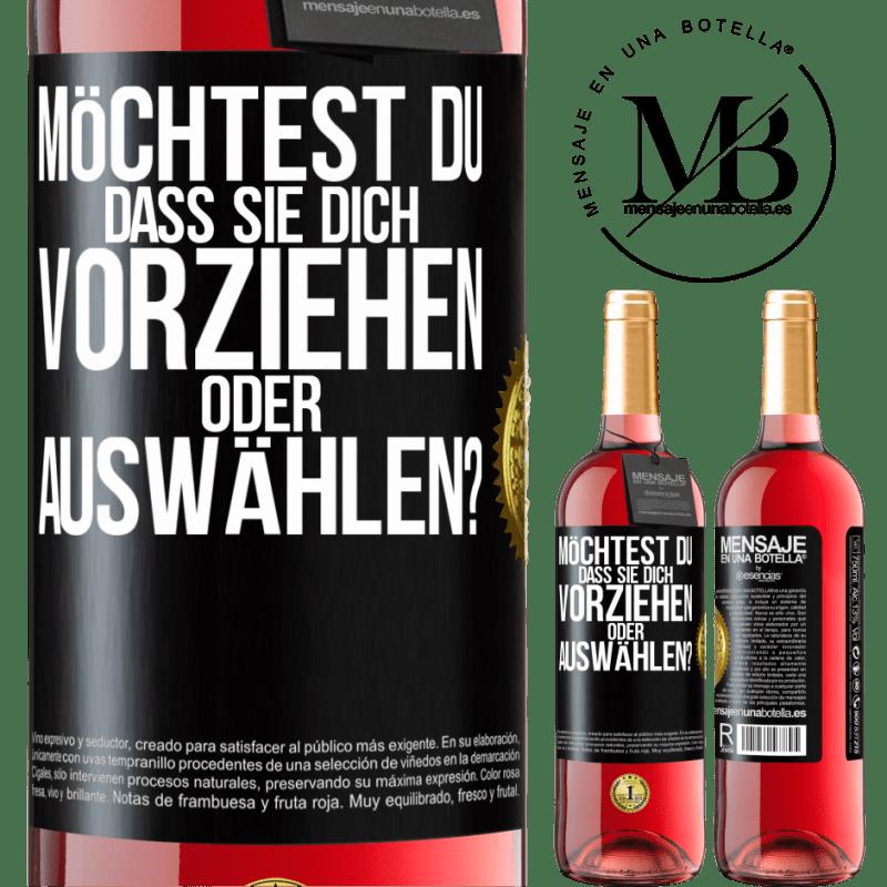 24,95 € Kostenloser Versand   Roséwein ROSÉ Ausgabe welches bevorzugen Sie oder wer wählt Sie aus? Schwarzes Etikett. Anpassbares Etikett Junger Wein Ernte 2020 Tempranillo