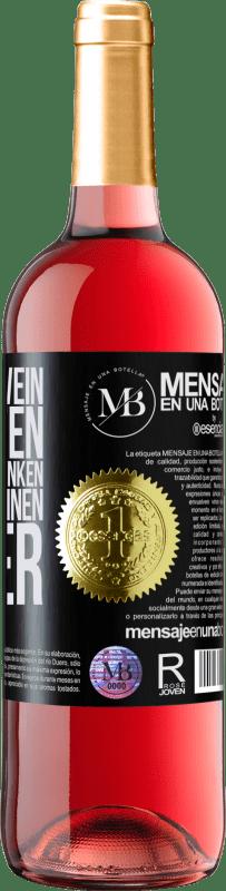 «Wenn wir Wein verkaufen und ihn nicht trinken, machen wir einen Fehler» ROSÉ Ausgabe