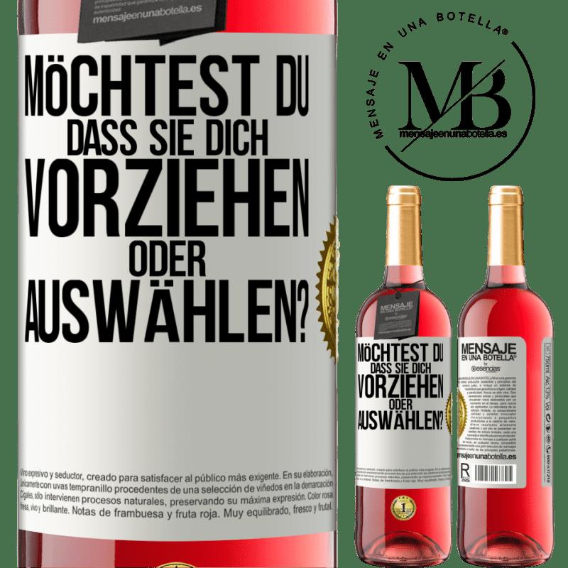 24,95 € Kostenloser Versand   Roséwein ROSÉ Ausgabe welches bevorzugen Sie oder wer wählt Sie aus? Weißes Etikett. Anpassbares Etikett Junger Wein Ernte 2020 Tempranillo