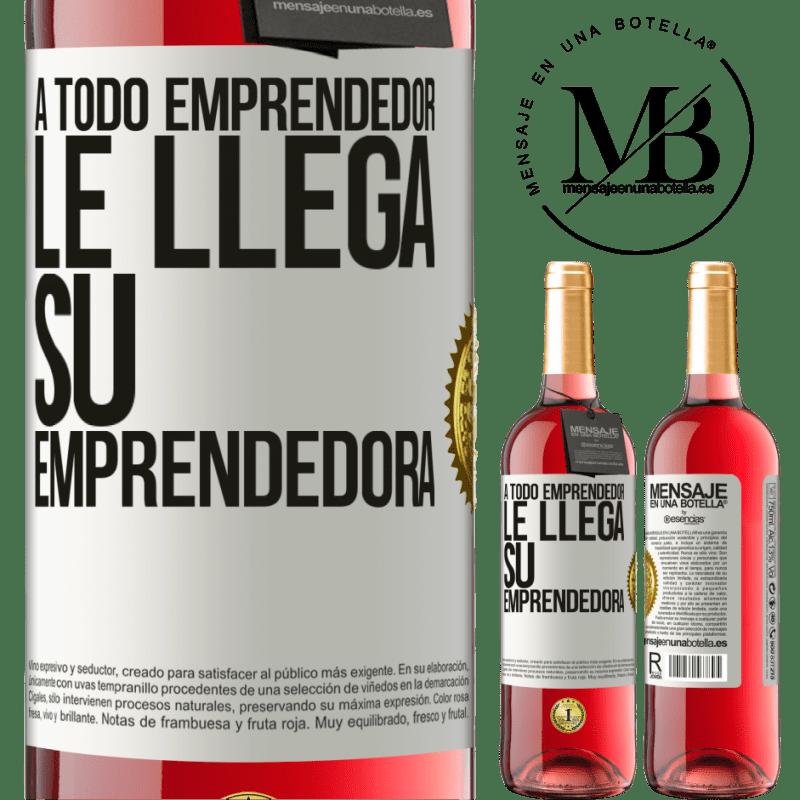 24,95 € Envoi gratuit   Vin rosé Édition ROSÉ Chaque entrepreneur obtient son entrepreneur Étiquette Blanche. Étiquette personnalisable Vin jeune Récolte 2020 Tempranillo