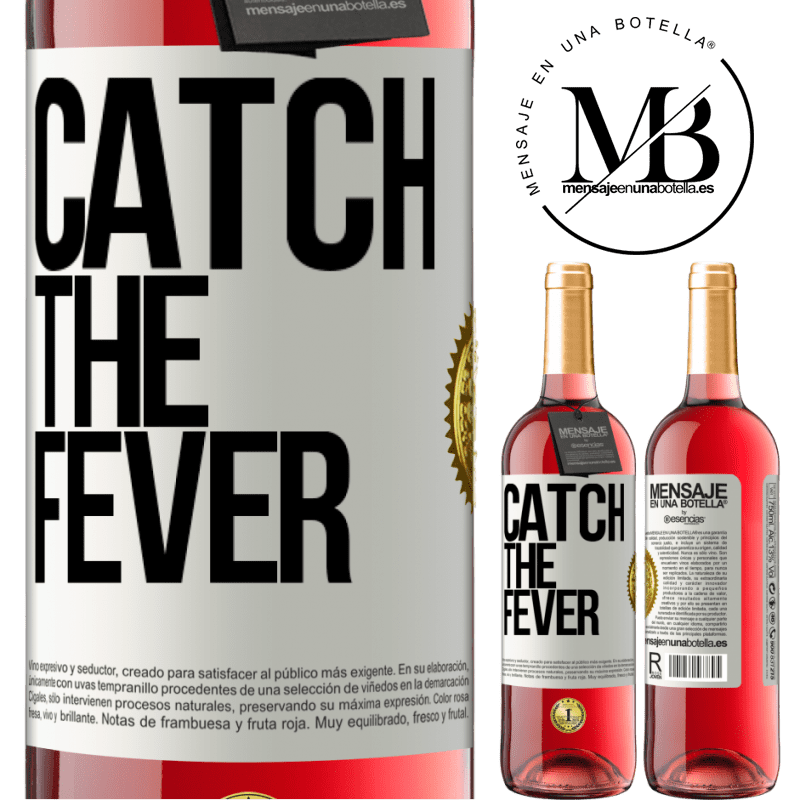 24,95 € Free Shipping   Rosé Wine ROSÉ Edition Catch the fever White Label. Customizable label Young wine Harvest 2020 Tempranillo