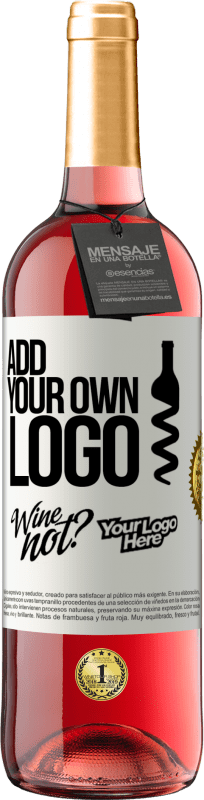 24,95 € Free Shipping   Rosé Wine ROSÉ Edition Add your own logo White Label. Customizable label Young wine Harvest 2020 Tempranillo