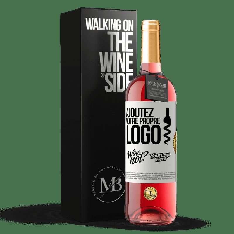 24,95 € Envoi gratuit | Vin rosé Édition ROSÉ Ajoutez votre propre logo Étiquette Blanche. Étiquette personnalisable Vin jeune Récolte 2020 Tempranillo