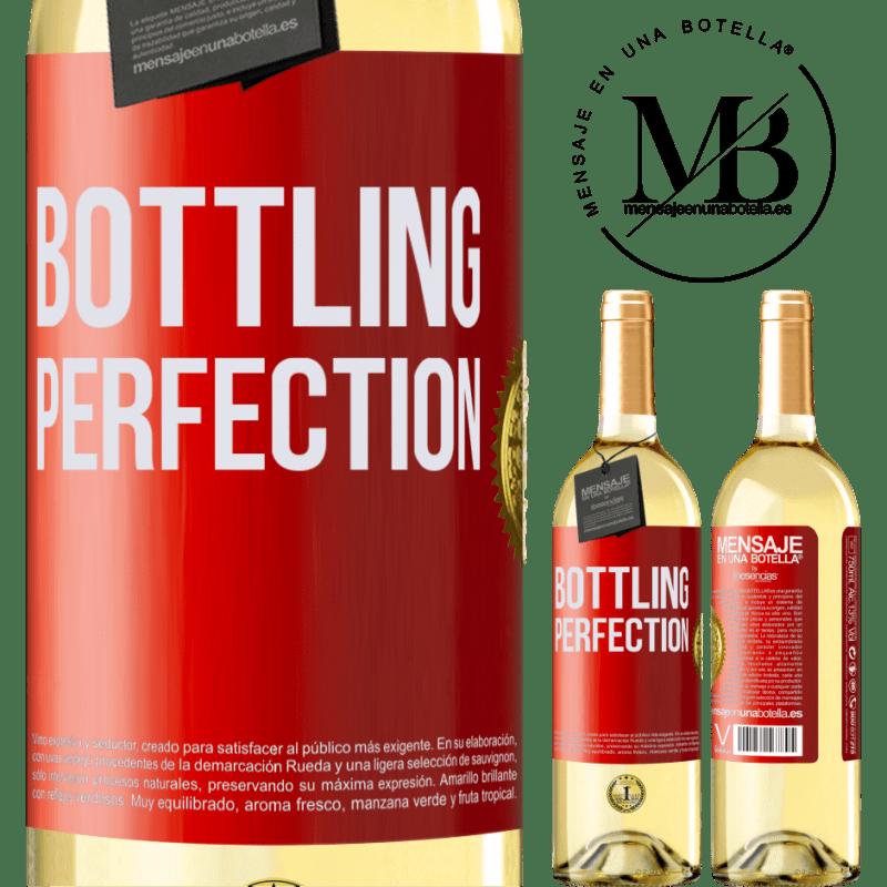 24,95 € Envío gratis | Vino Blanco Edición WHITE Bottling perfection Etiqueta Roja. Etiqueta personalizable Vino joven Cosecha 2020 Verdejo