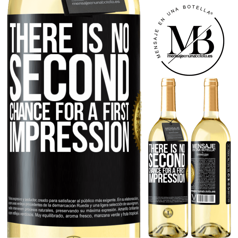 24,95 € Free Shipping | White Wine WHITE Edition There is no second chance for a first impression Black Label. Customizable label Young wine Harvest 2020 Verdejo