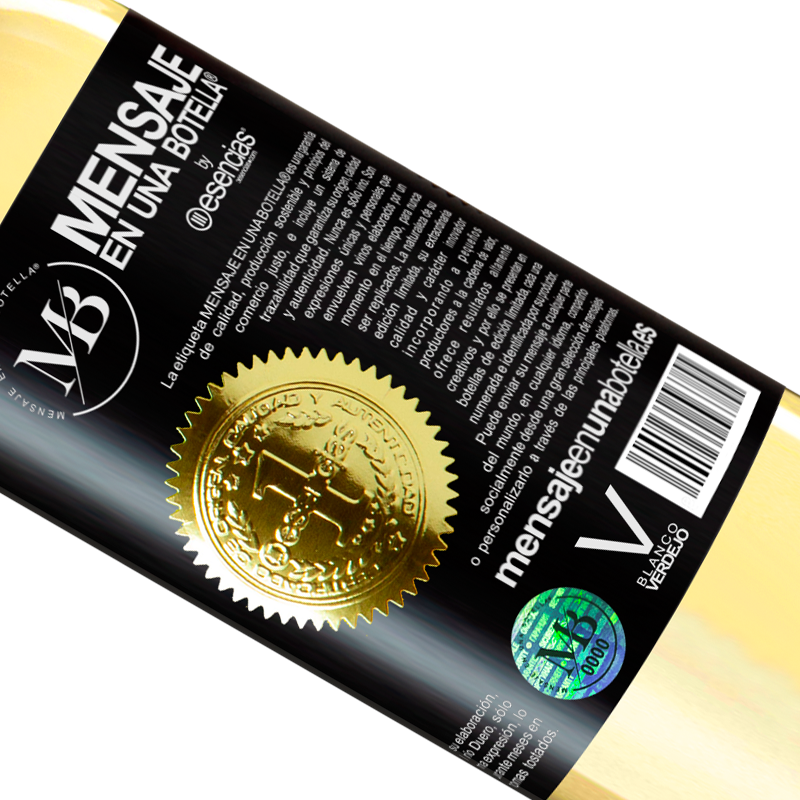 Edición Limitada. «99% passion, 1% wine» Edición WHITE