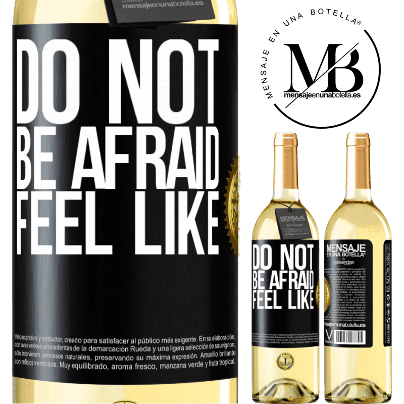 24,95 € Free Shipping   White Wine WHITE Edition Do not be afraid. Feel like Black Label. Customizable label Young wine Harvest 2020 Verdejo