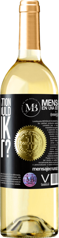 «who is moderation and why should I drink with it?» WHITE Edition
