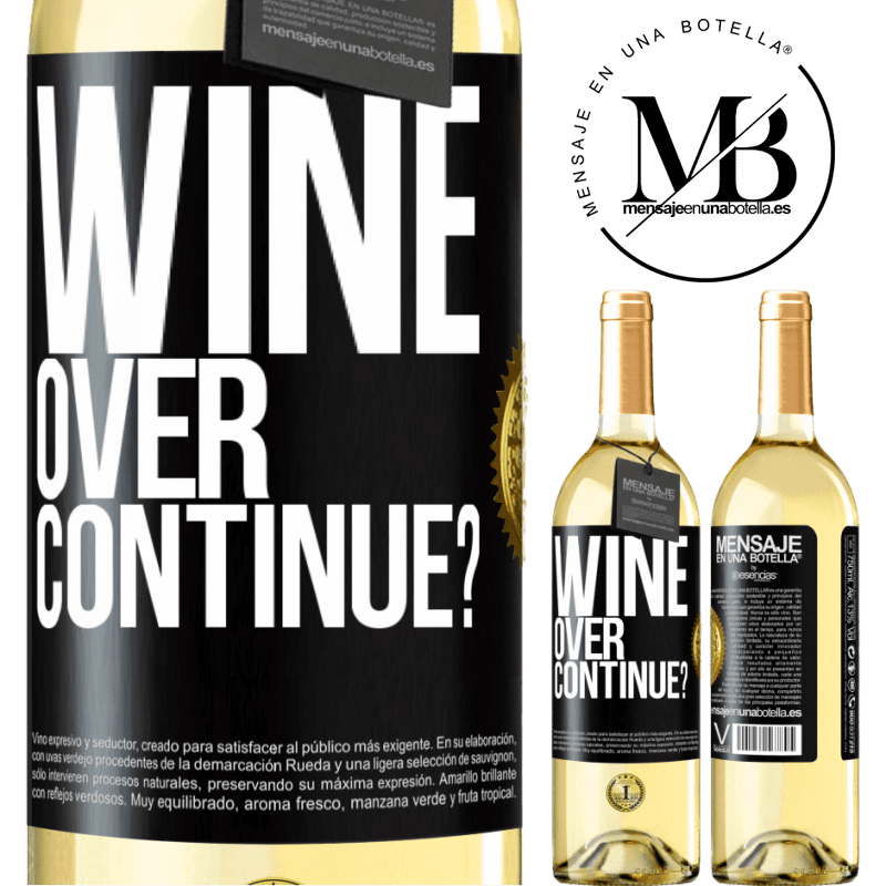 24,95 € Free Shipping | White Wine WHITE Edition Wine over. Continue? Black Label. Customizable label Young wine Harvest 2020 Verdejo