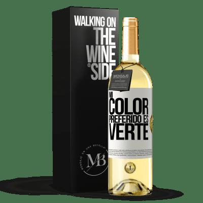 «Mi color preferido es: verte» WHITE Edition
