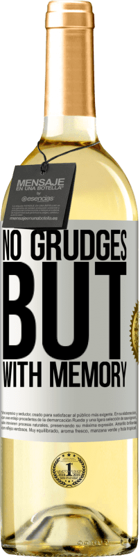 24,95 € Free Shipping   White Wine WHITE Edition No grudges, but with memory White Label. Customizable label Young wine Harvest 2020 Verdejo