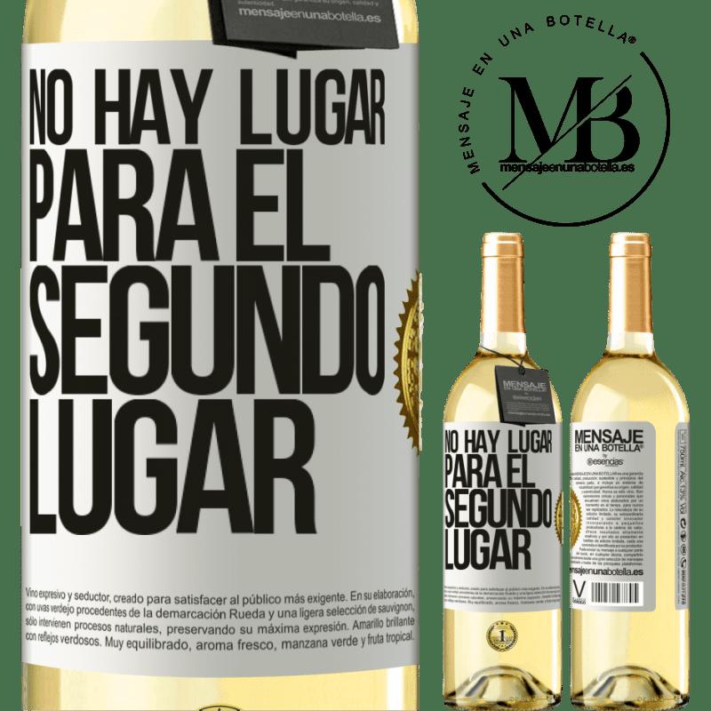 24,95 € Envoi gratuit   Vin blanc Édition WHITE Il n'y a pas de place pour la deuxième place Étiquette Blanche. Étiquette personnalisable Vin jeune Récolte 2020 Verdejo