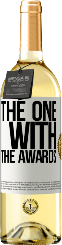24,95 € Free Shipping | White Wine WHITE Edition The one with the awards White Label. Customizable label Young wine Harvest 2020 Verdejo