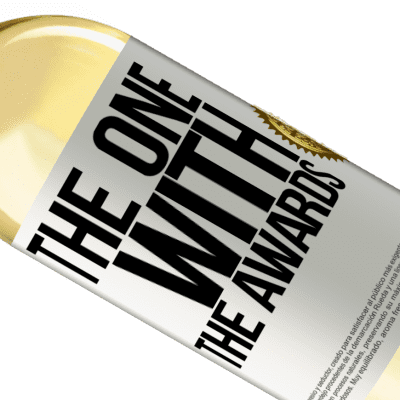 Unique & Personal Expressions. «The one with the awards» WHITE Edition