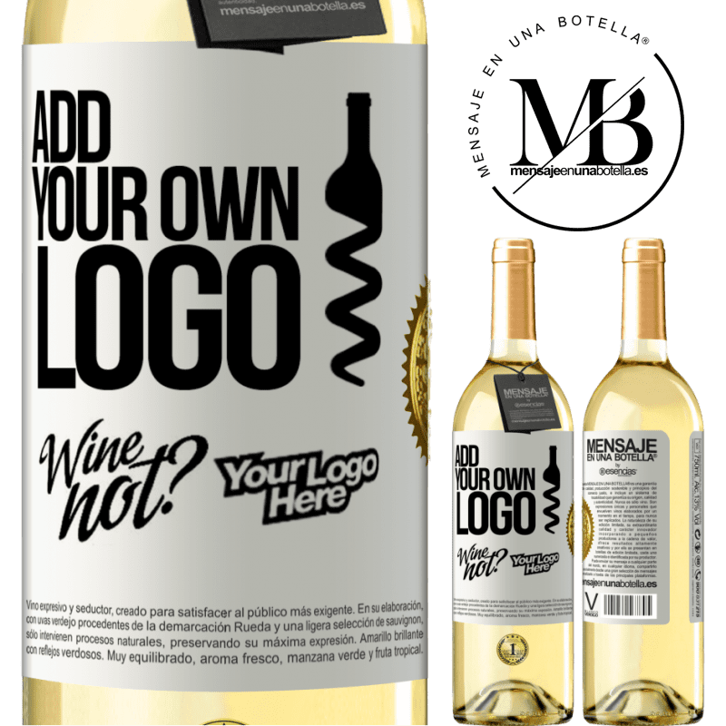 24,95 € Free Shipping | White Wine WHITE Edition Add your own logo White Label. Customizable label Young wine Harvest 2020 Verdejo
