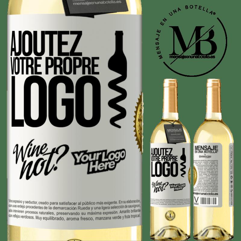 24,95 € Envoi gratuit | Vin blanc Édition WHITE Ajoutez votre propre logo Étiquette Blanche. Étiquette personnalisable Vin jeune Récolte 2020 Verdejo