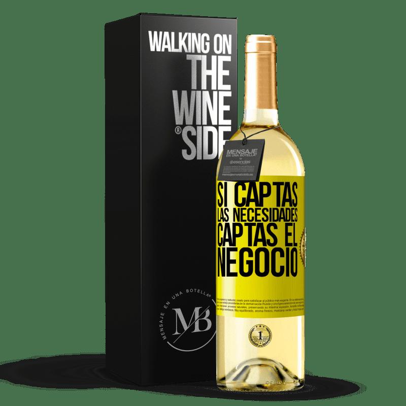 24,95 € Envoi gratuit | Vin blanc Édition WHITE Si vous obtenez les besoins, vous obtenez l'entreprise Étiquette Jaune. Étiquette personnalisable Vin jeune Récolte 2020 Verdejo