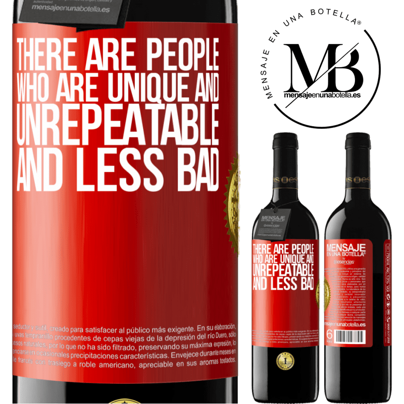 24,95 € Free Shipping | Red Wine RED Edition Crianza 6 Months There are people who are unique and unrepeatable. And less bad Red Label. Customizable label Aging in oak barrels 6 Months Harvest 2018 Tempranillo