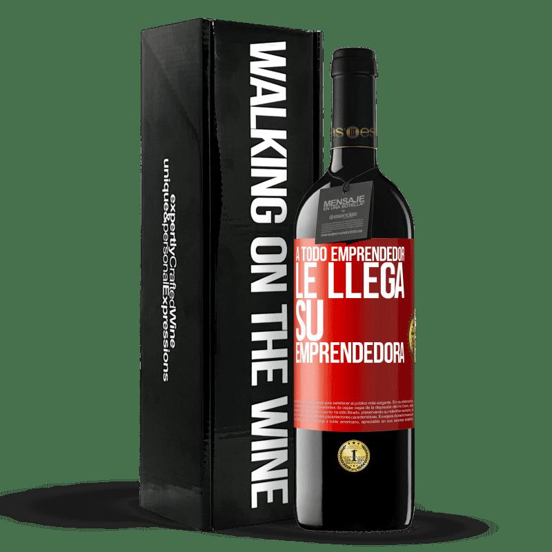 24,95 € Envoi gratuit   Vin rouge Édition RED Crianza 6 Mois Chaque entrepreneur obtient son entrepreneur Étiquette Rouge. Étiquette personnalisable Vieillissement en fûts de chêne 6 Mois Récolte 2018 Tempranillo