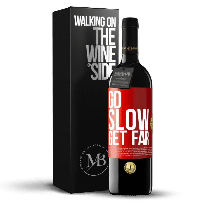 24,95 € Free Shipping | Red Wine RED Edition Crianza 6 Months Go slow. Get far Red Label. Customizable label Aging in oak barrels 6 Months Harvest 2018 Tempranillo