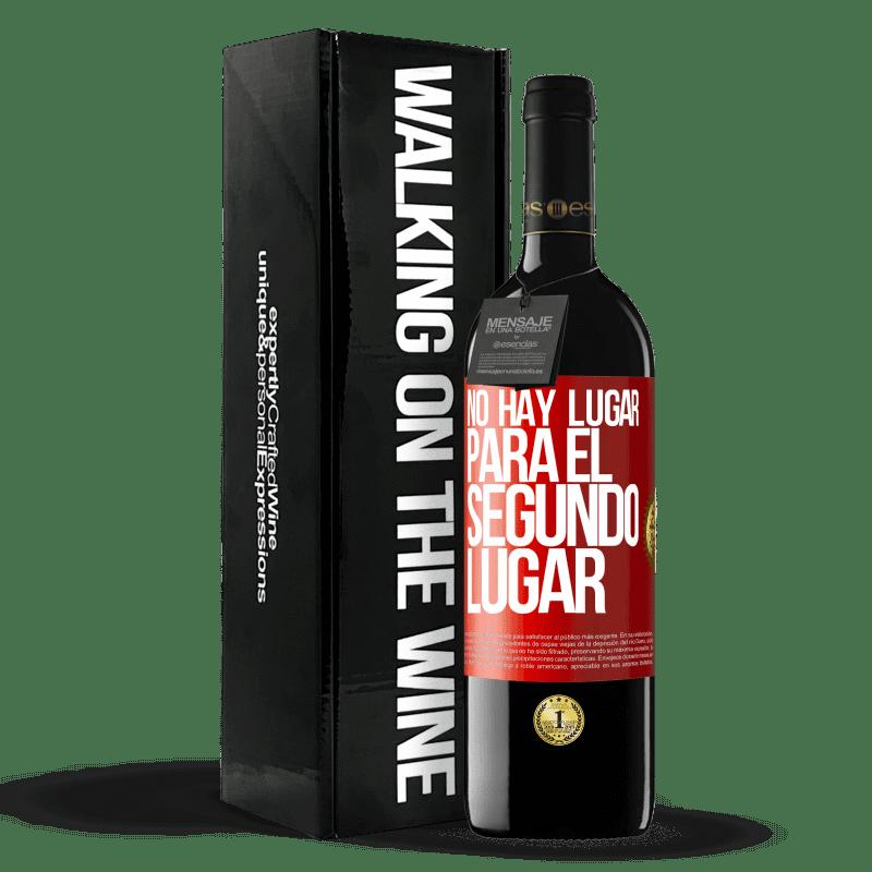 24,95 € Envoi gratuit   Vin rouge Édition RED Crianza 6 Mois Il n'y a pas de place pour la deuxième place Étiquette Rouge. Étiquette personnalisable Vieillissement en fûts de chêne 6 Mois Récolte 2018 Tempranillo