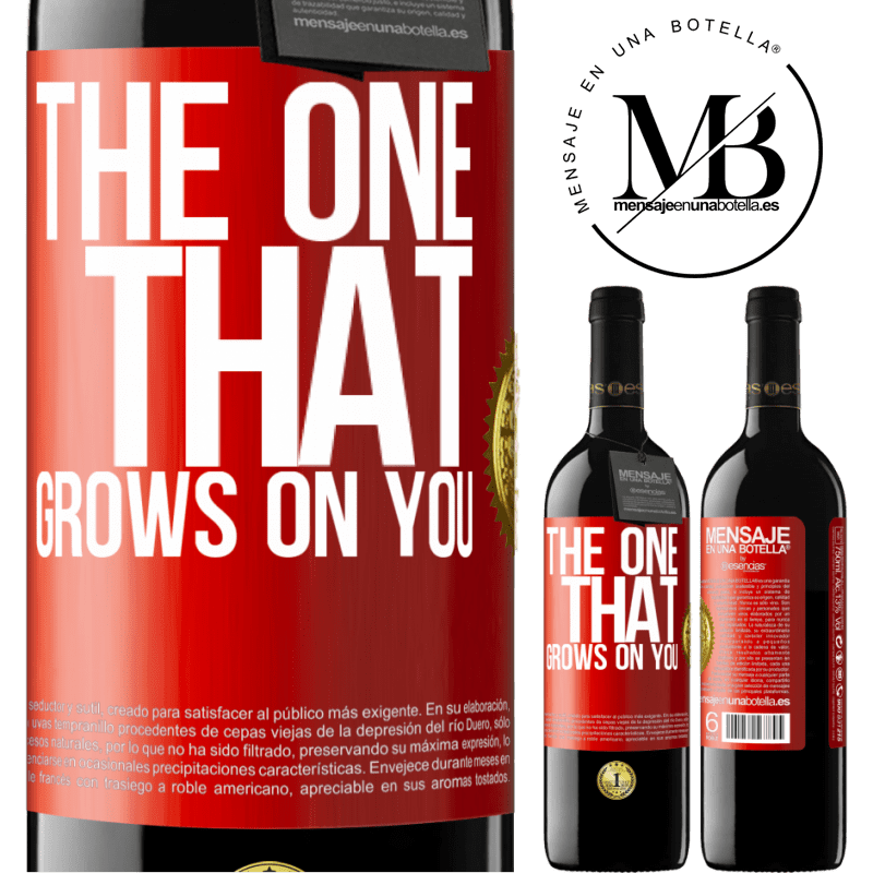 24,95 € Free Shipping   Red Wine RED Edition Crianza 6 Months The one that grows on you Red Label. Customizable label Aging in oak barrels 6 Months Harvest 2018 Tempranillo