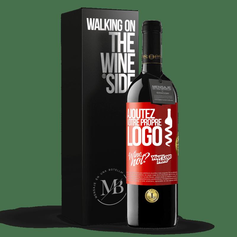 24,95 € Envoi gratuit | Vin rouge Édition RED Crianza 6 Mois Ajoutez votre propre logo Étiquette Rouge. Étiquette personnalisable Vieillissement en fûts de chêne 6 Mois Récolte 2018 Tempranillo