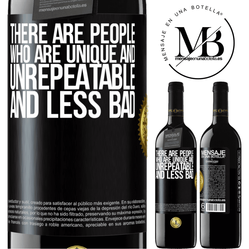 24,95 € Free Shipping | Red Wine RED Edition Crianza 6 Months There are people who are unique and unrepeatable. And less bad Black Label. Customizable label Aging in oak barrels 6 Months Harvest 2018 Tempranillo