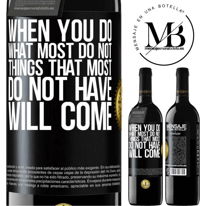 24,95 € Free Shipping   Red Wine RED Edition Crianza 6 Months When you do what most do not, things that most do not have will come Black Label. Customizable label Aging in oak barrels 6 Months Harvest 2018 Tempranillo