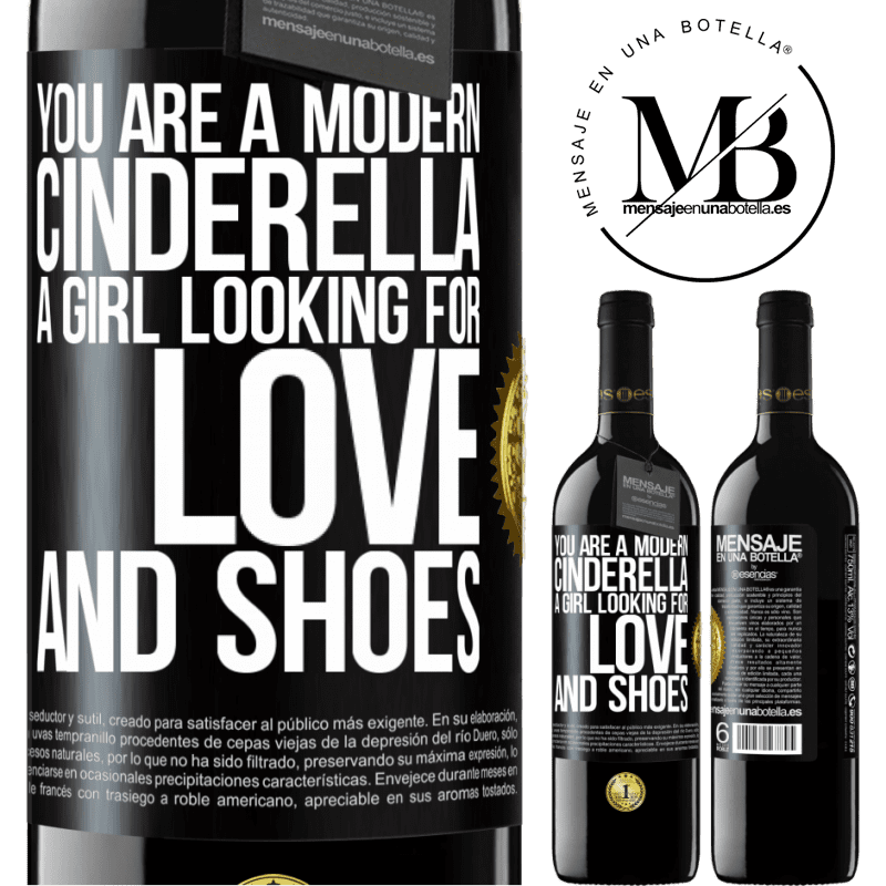 24,95 € Free Shipping | Red Wine RED Edition Crianza 6 Months You are a modern cinderella, a girl looking for love and shoes Black Label. Customizable label Aging in oak barrels 6 Months Harvest 2018 Tempranillo
