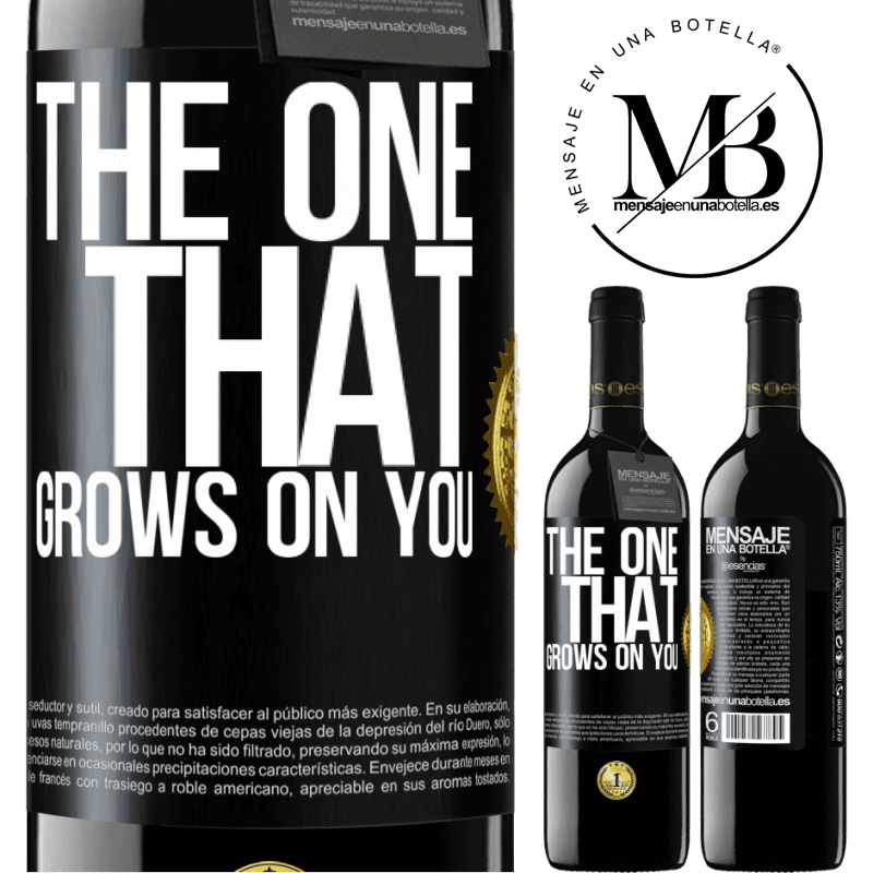 24,95 € Free Shipping   Red Wine RED Edition Crianza 6 Months The one that grows on you Black Label. Customizable label Aging in oak barrels 6 Months Harvest 2018 Tempranillo