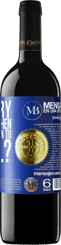 «why try to fit in when we were born to excel?» RED Edition Crianza 6 Months