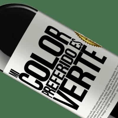 Unique & Personal Expressions. «Mi color preferido es: verte» RED Edition Crianza 6 Months