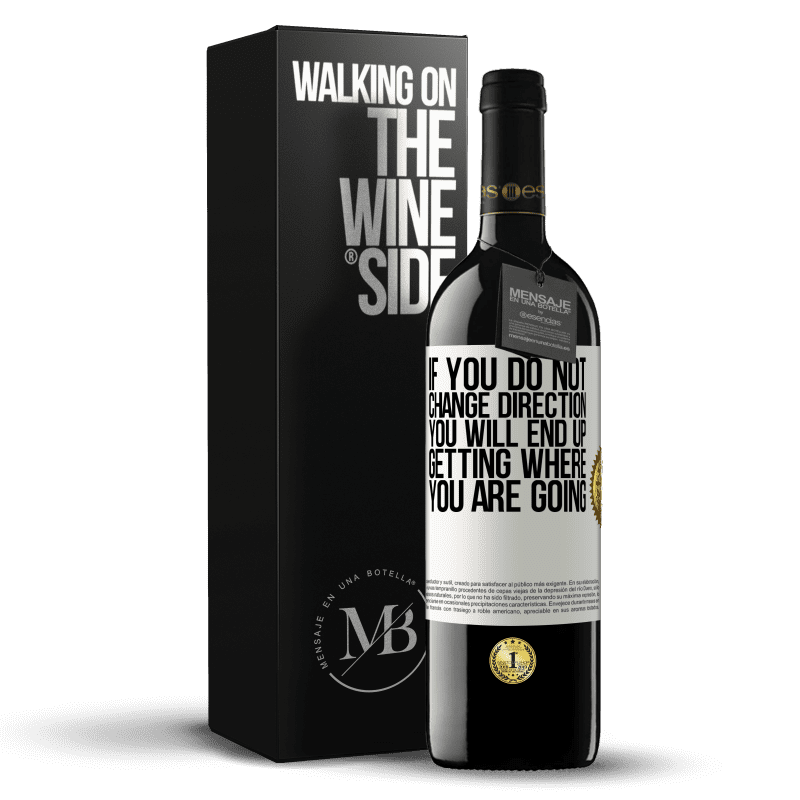 24,95 € Free Shipping | Red Wine RED Edition Crianza 6 Months If you do not change direction, you will end up getting where you are going White Label. Customizable label Aging in oak barrels 6 Months Harvest 2018 Tempranillo