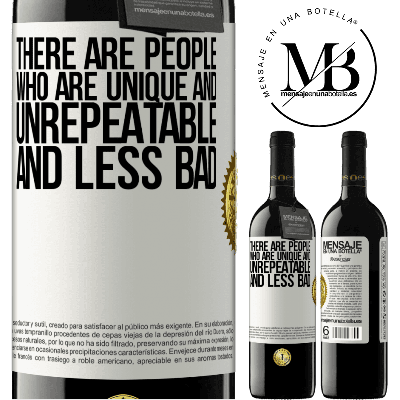 24,95 € Free Shipping | Red Wine RED Edition Crianza 6 Months There are people who are unique and unrepeatable. And less bad White Label. Customizable label Aging in oak barrels 6 Months Harvest 2018 Tempranillo