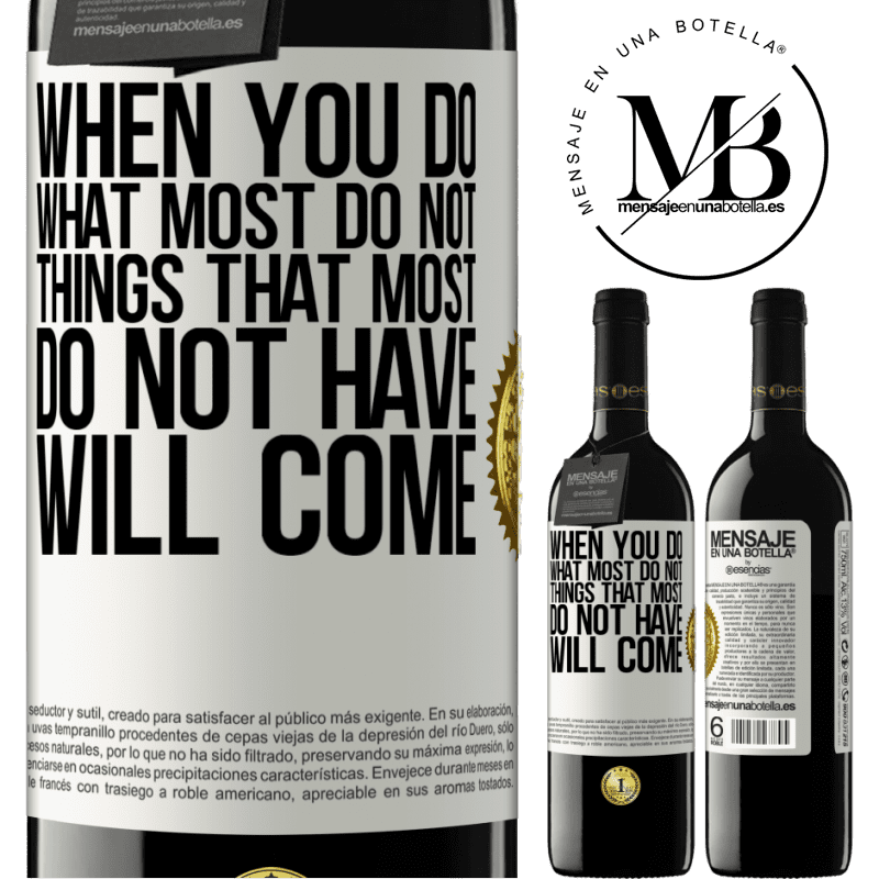24,95 € Free Shipping | Red Wine RED Edition Crianza 6 Months When you do what most do not, things that most do not have will come White Label. Customizable label Aging in oak barrels 6 Months Harvest 2018 Tempranillo