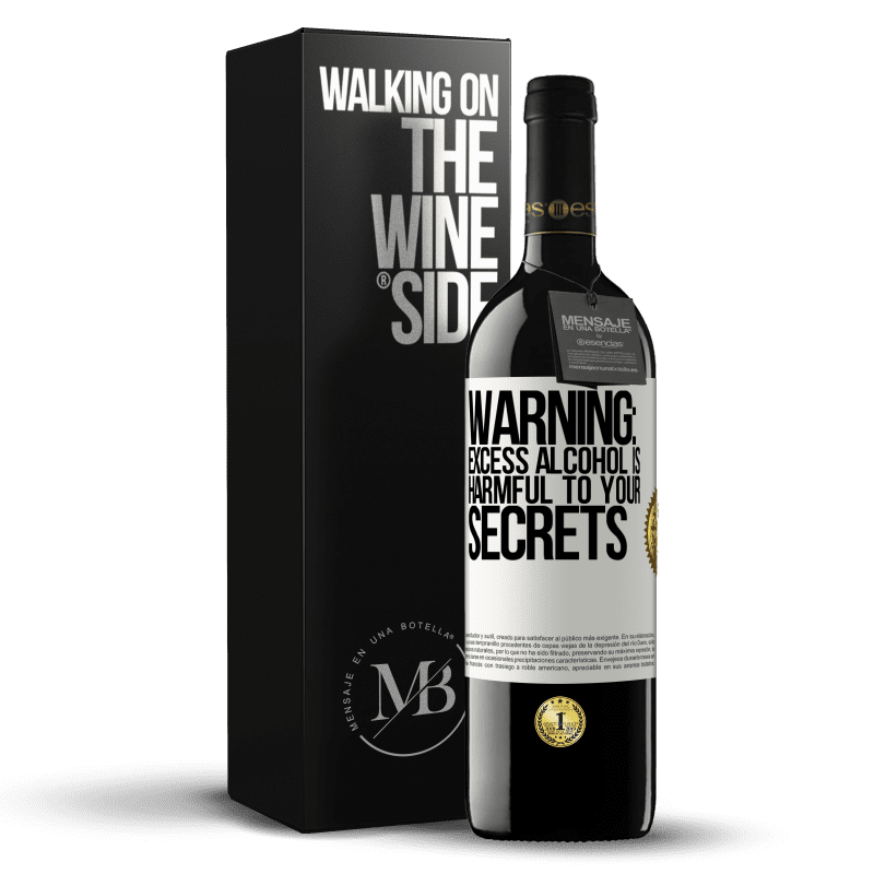 24,95 € Free Shipping | Red Wine RED Edition Crianza 6 Months Warning: Excess alcohol is harmful to your secrets White Label. Customizable label Aging in oak barrels 6 Months Harvest 2018 Tempranillo