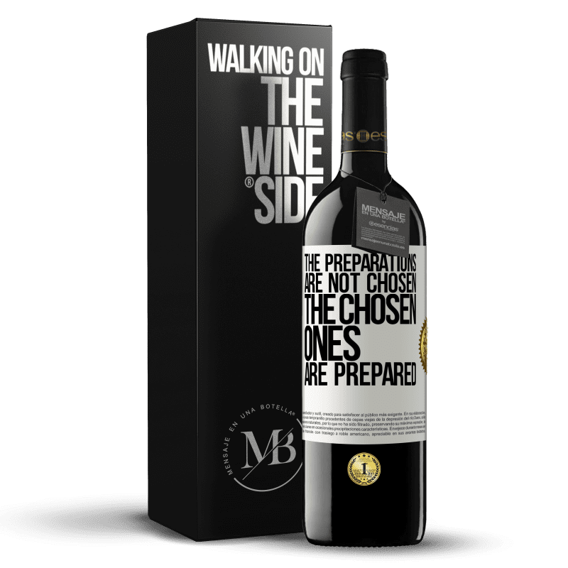 24,95 € Free Shipping | Red Wine RED Edition Crianza 6 Months The preparations are not chosen, the chosen ones are prepared White Label. Customizable label Aging in oak barrels 6 Months Harvest 2018 Tempranillo
