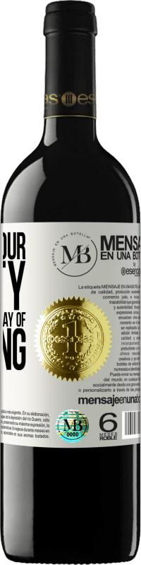 «Half of your beauty is your strange way of thinking» RED Edition Crianza 6 Months