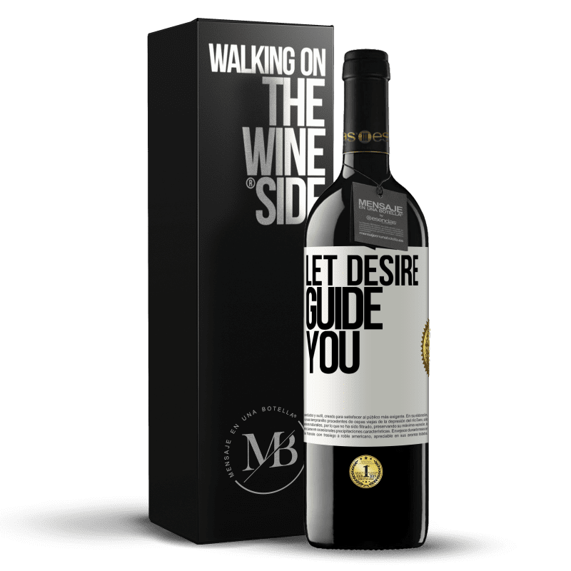 24,95 € Free Shipping | Red Wine RED Edition Crianza 6 Months Let desire guide you White Label. Customizable label Aging in oak barrels 6 Months Harvest 2018 Tempranillo